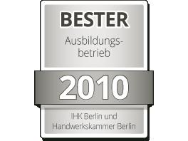 Bester Ausbildungsbetrieb 2010